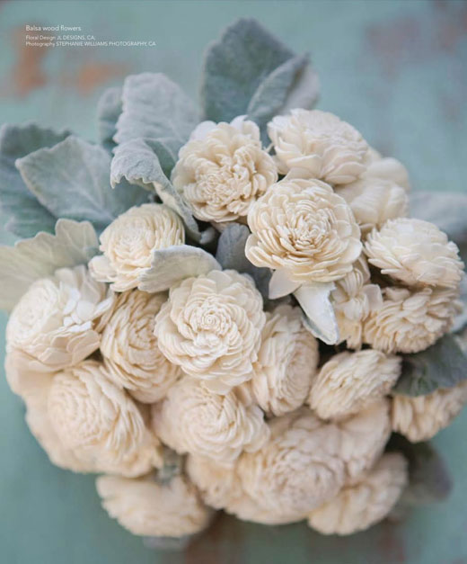 Balsa Wood Bouquet photo by Stephanie Williams