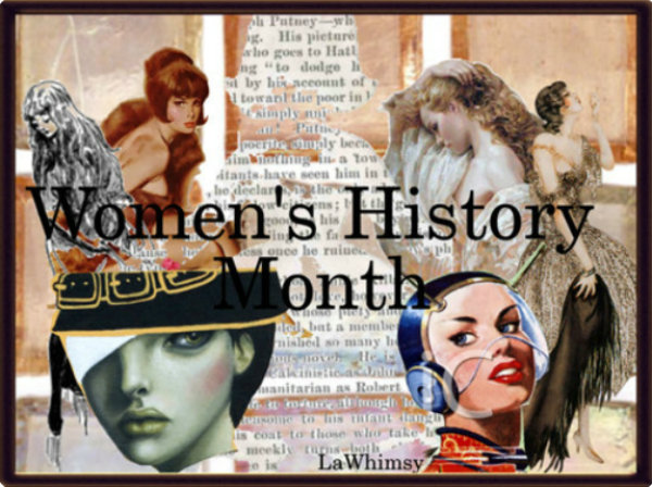 Women's History Month Collage via LaWhimsy