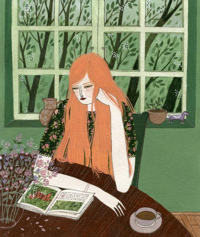 The Reader by yelena bryksenkova