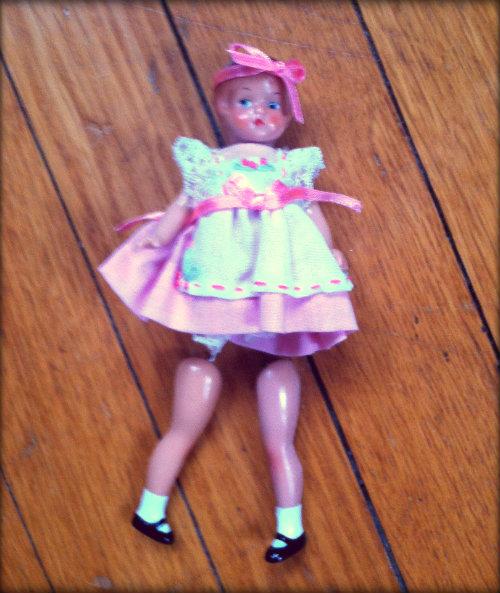 broken patsy doll