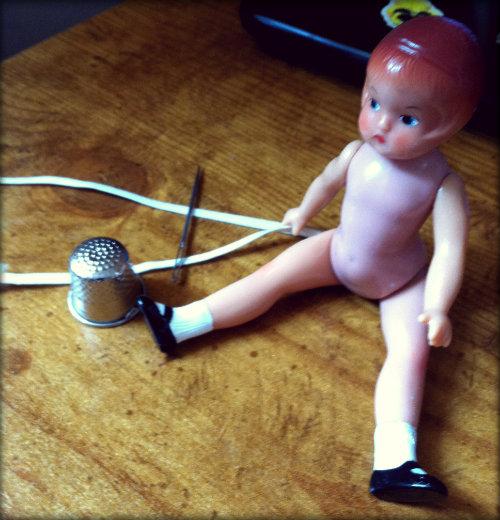 restrung patsy doll