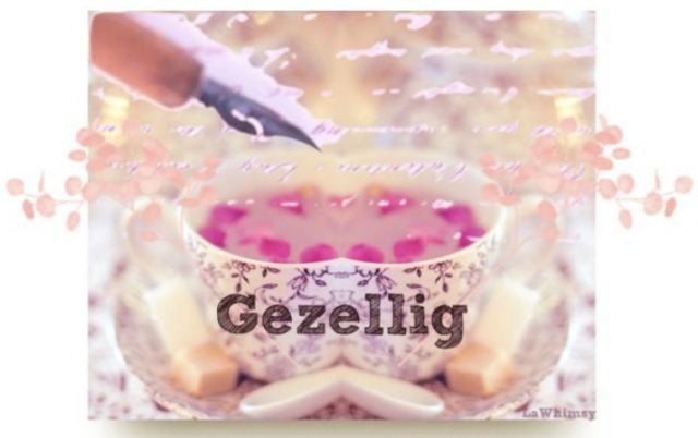gezellig vibe art collage by lawhimsy