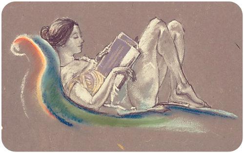 Reclining Woman by Arthur B. Davies