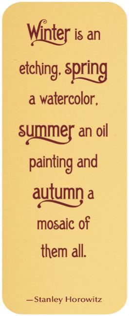Autumn is Quote
