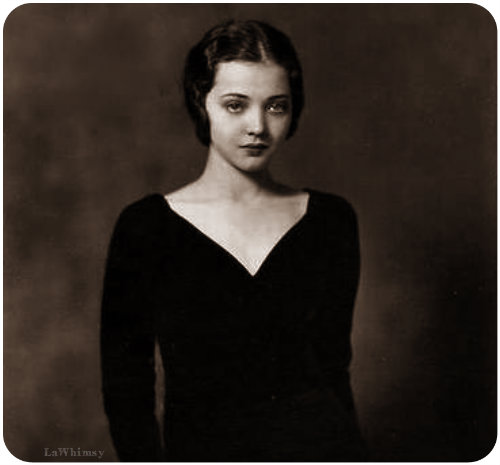 Sylvia Sidney Perfectly Limpid via lawhimsy
