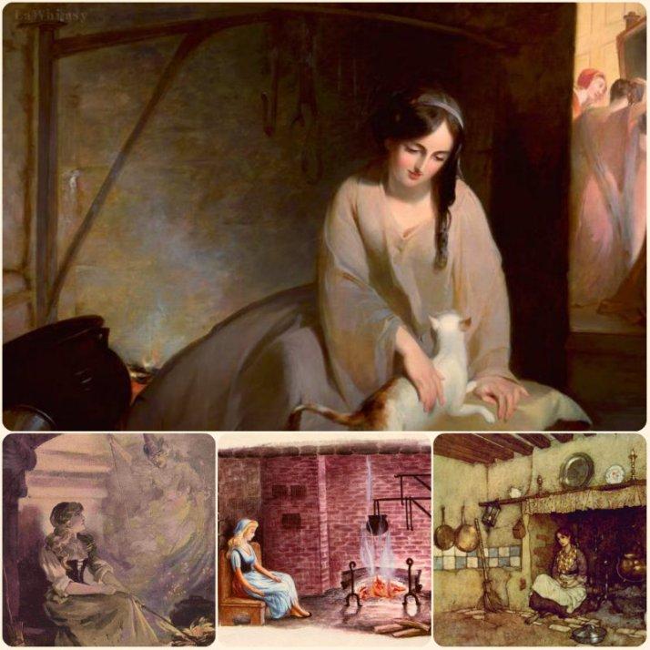 Cinderella Inglenook Collage via lawhimsy
