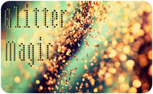 glitter magic