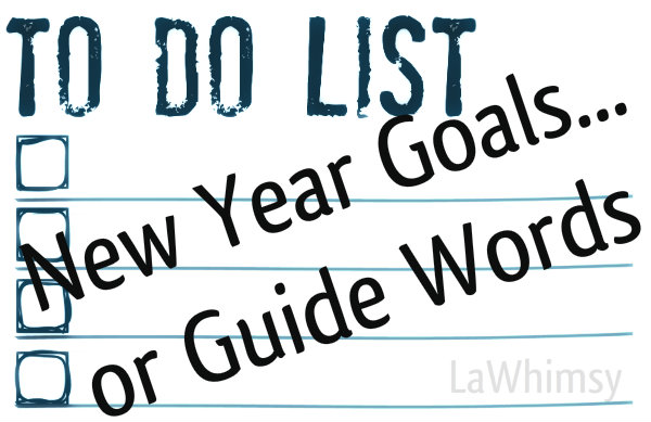 Resolutions or Guide Words
