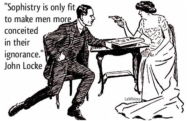 Sophistry Argument via LaWhimsy