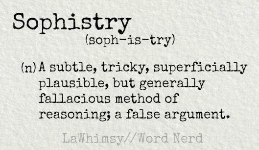 Image result for sophistry