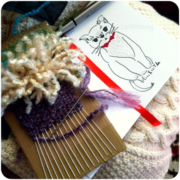 Weaving and Drawing via LaWhimsy