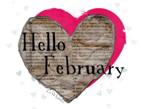 hello february lawhimsy creation