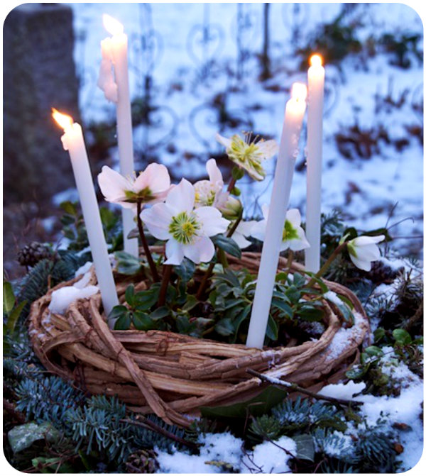 Imbolc Celebration Spring is Near via LaWhimsy