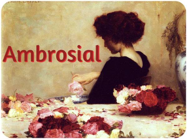 Ambrosial Word Nerd via LaWhimsy