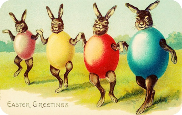 Easter Greetings creepiness via lawhimsy