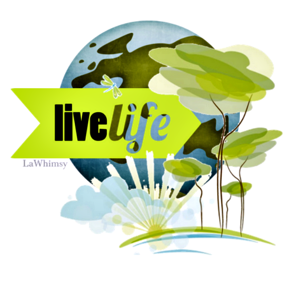 Live Life Earth Day by LaWhimsy