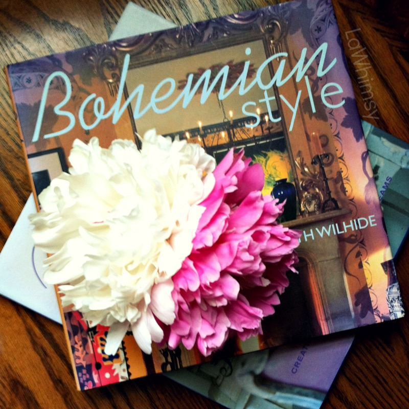 bohemian peony by lawhimsy