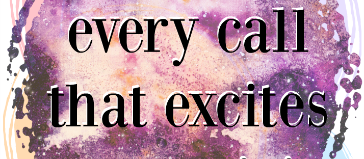 Respond to every call that excites your spirit Rumi quote Monday Mantra 10 via LaWhimsy