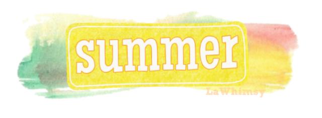 Summer via LaWhimsy