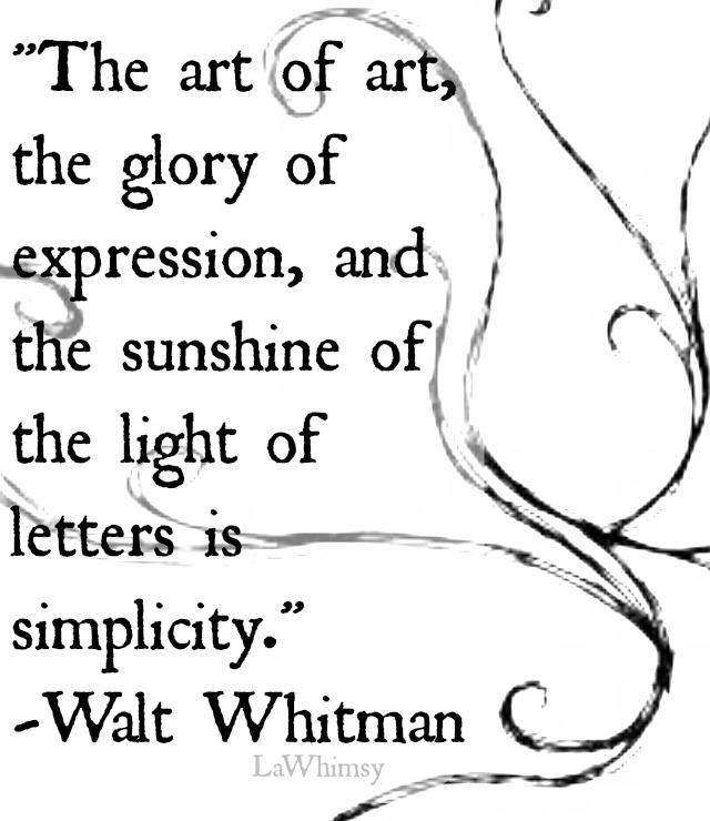 the art of art monday mantra via lawhimsy