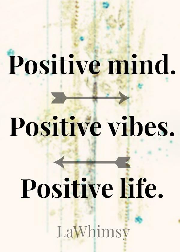 Positivity Monday Mantra via LaWhimsy