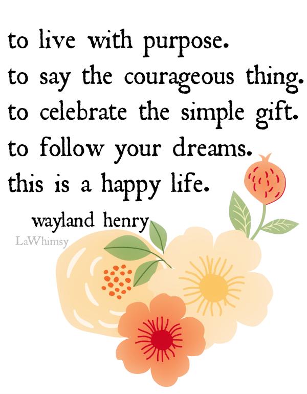 wayland henry monday mantra via LaWhimsy