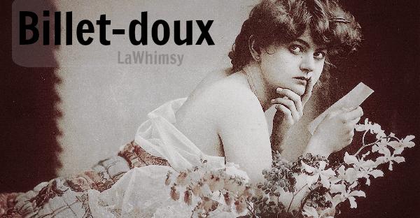 billet-doux word nerd via lawhimsy