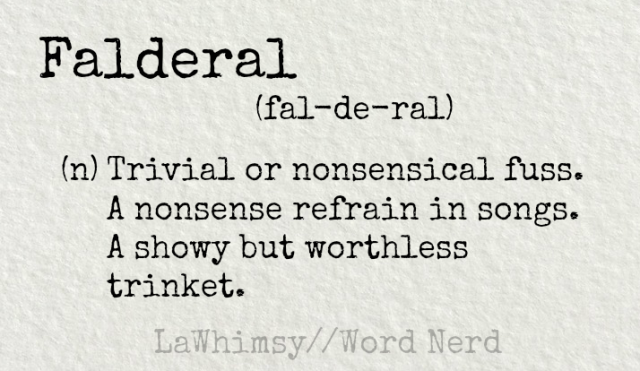 falderal definition Word Nerd via LaWhimsy.png