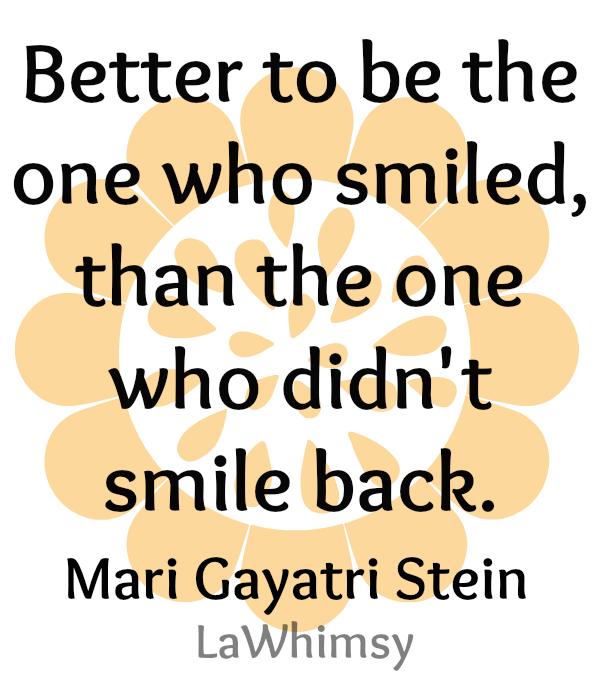 Smile Monday Mantra via LaWhimsy