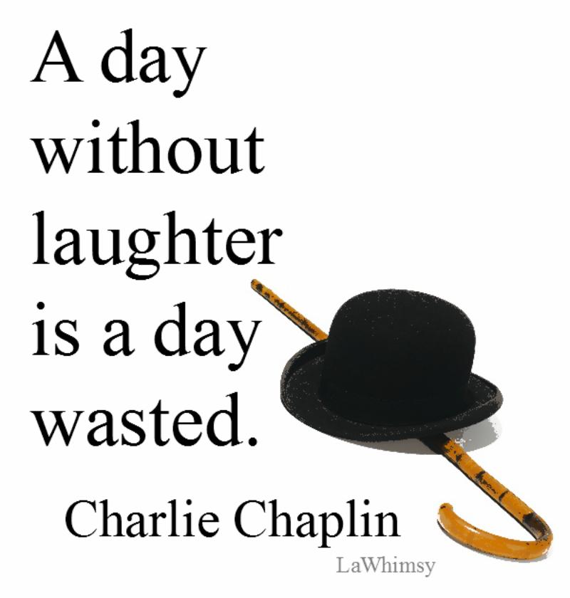 Charlie Chaplin Monday Mantra via LaWhimsy