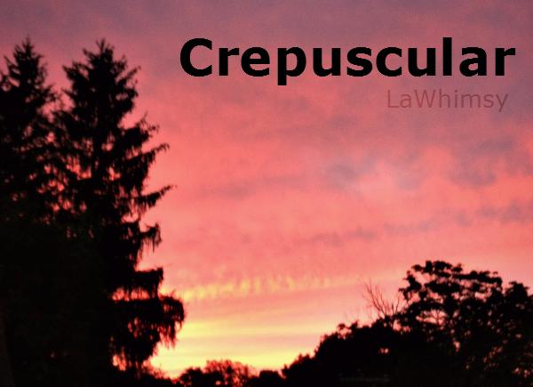 Crepuscular Word Nerd via LaWhimsy