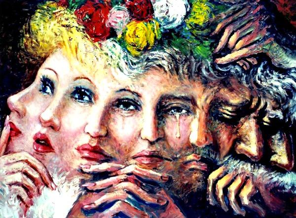 Mercurial Man Woman Multiplism by Victor Victori
