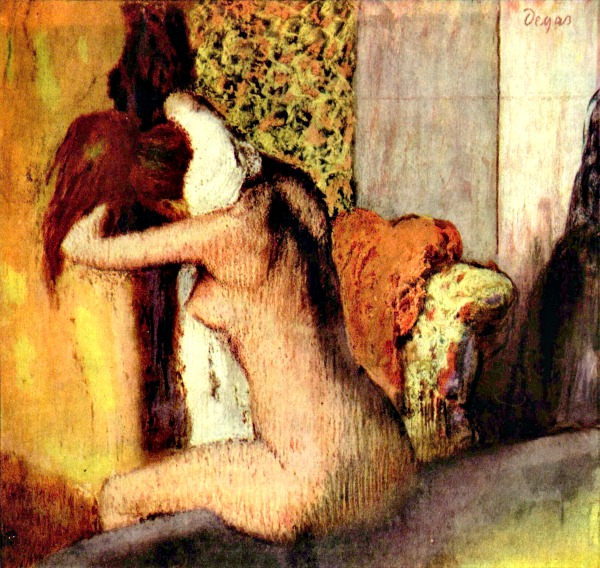 Degas: After the bath 2