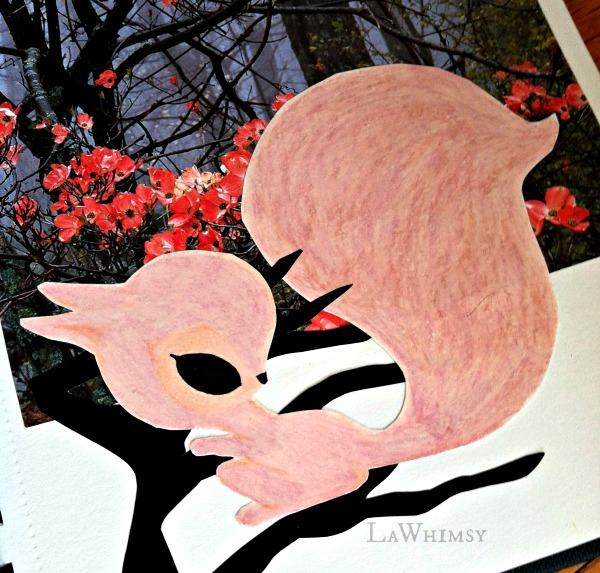 Get Messy Week 7 by LaWhimsy pink squirrel