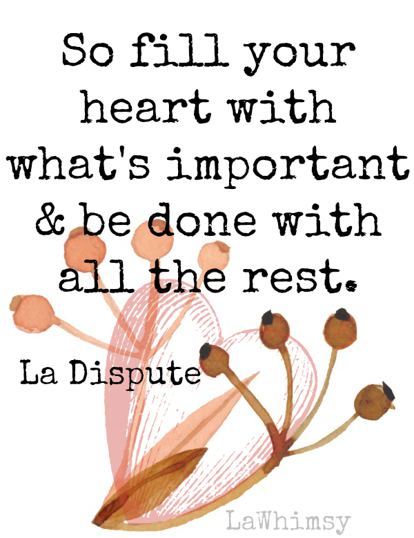 Fill your heart Monday Mantra via LaWhimsy