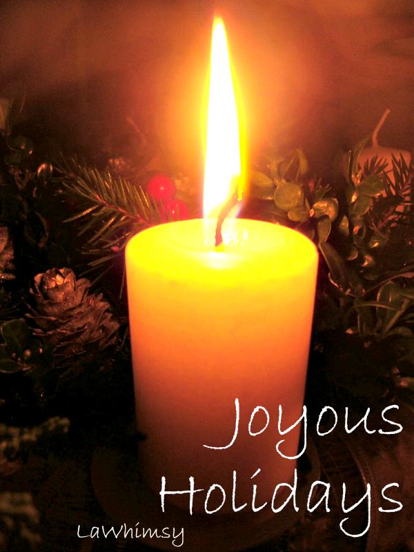 Happy Holidays via LaWhimsy