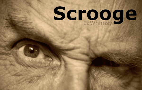 Scrooge Word Nerd via LaWhimsy