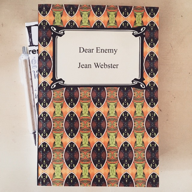 Dear Enemy Book Cover Image from LaWhimsy Instagram