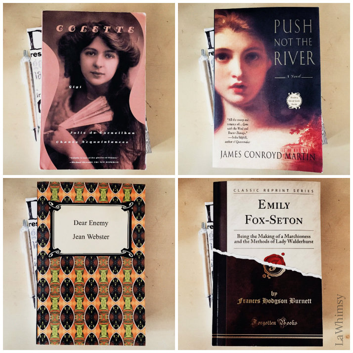 LaWhimsy Jan 2015 Reading List collage