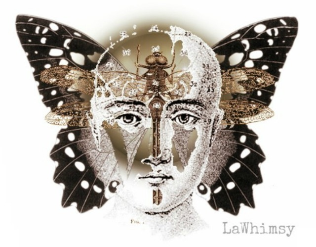 Capricious Mind Collage by LaWhimsy