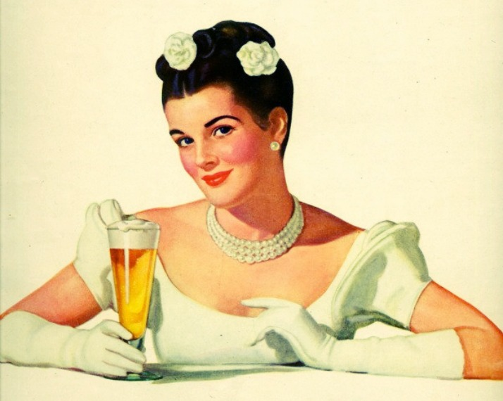 If this isn't Natty then I don't know what is vintage ad via LaWhimsy