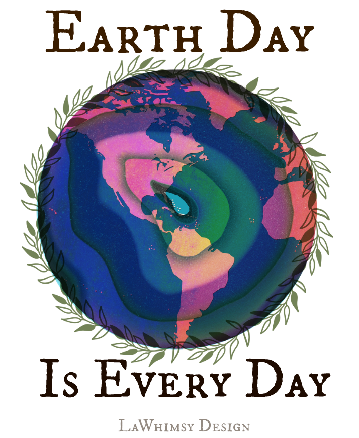 Earth Day Agate World via LaWhimsy