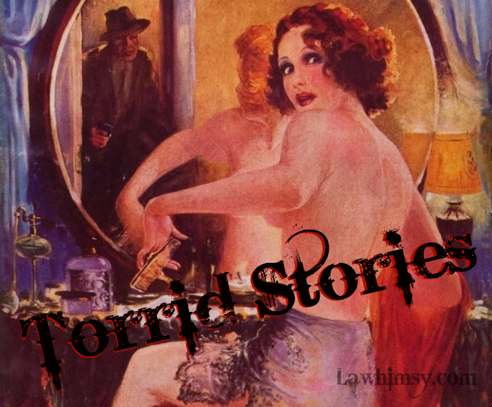 Torrid Stories detail from Spicy Detective Jan 1935 via lawhimsy