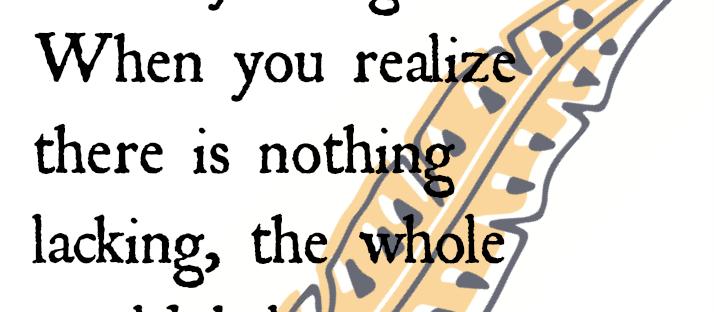 Lao Tzu quote Monday Mantra via lawhimsy