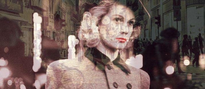 sonder in poetic motion art collage via lawhimsy