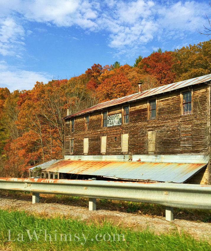 Blue Ridge Parkway Dodson Creek Mill photography by LaWhimsy