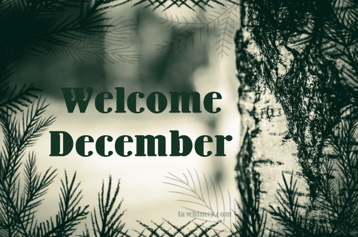 Welcome December via Lawhimsy