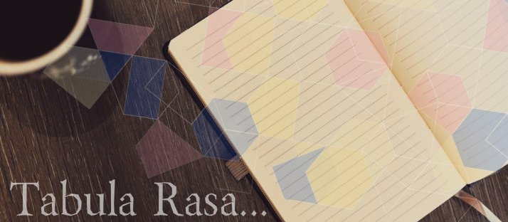 tabula rasa in a new year, a fresh notebook via LaWhimsy