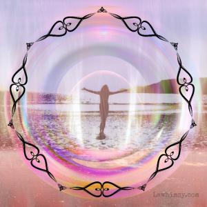 Caim digital art collage by Ella of LaWhimsy