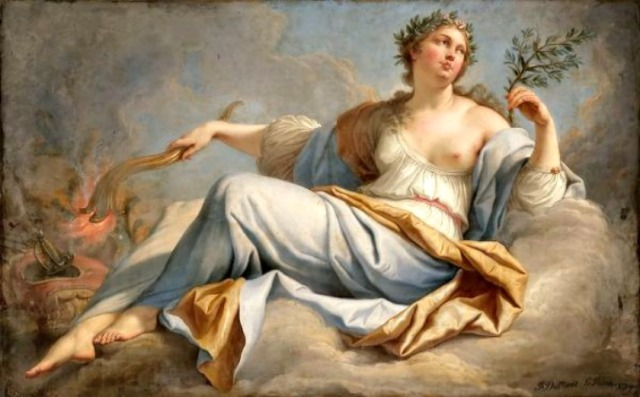 Irenic Eirene Goddess of Peace jacques dumont peace 1749 via LaWhimsy